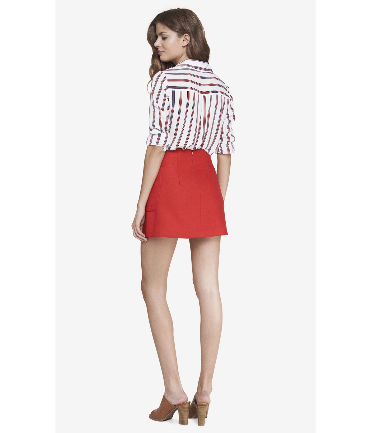 Mini Red Skirt | Jill Dress