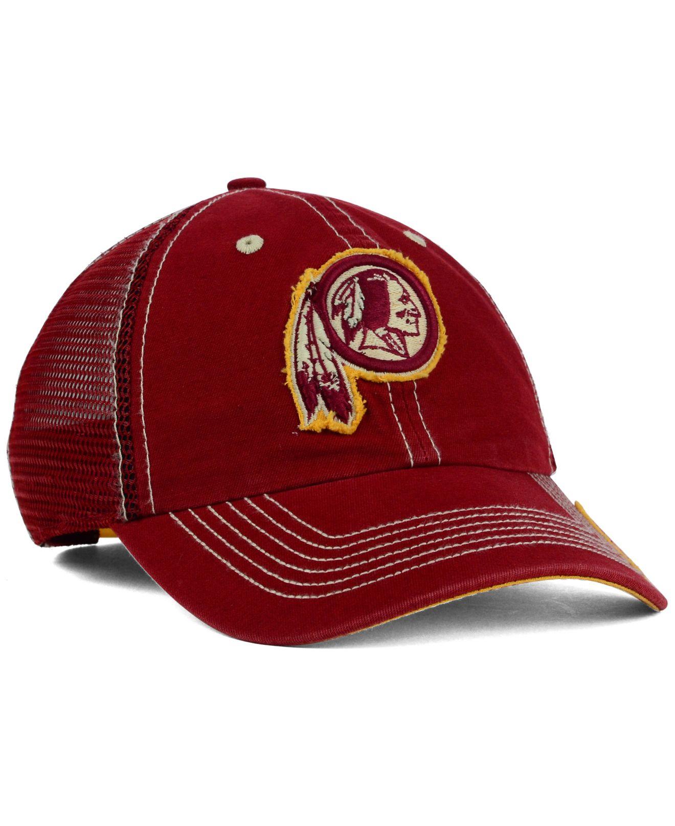 30f0627032a87 Lyst - 47 Brand Washington Redskins Turner Mesh Clean Up Cap in ...