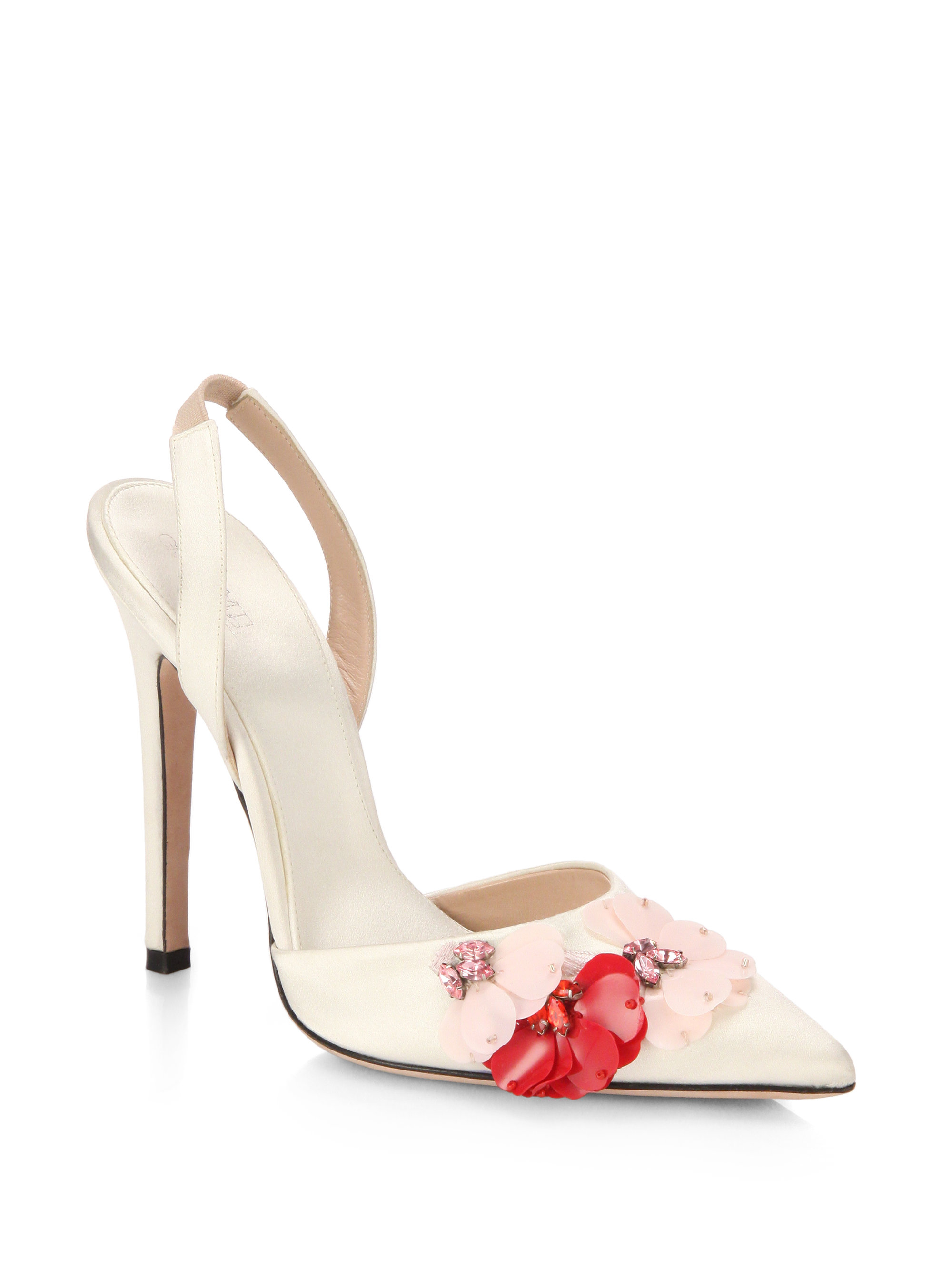 Giambattista Valli Star Slingback Pump