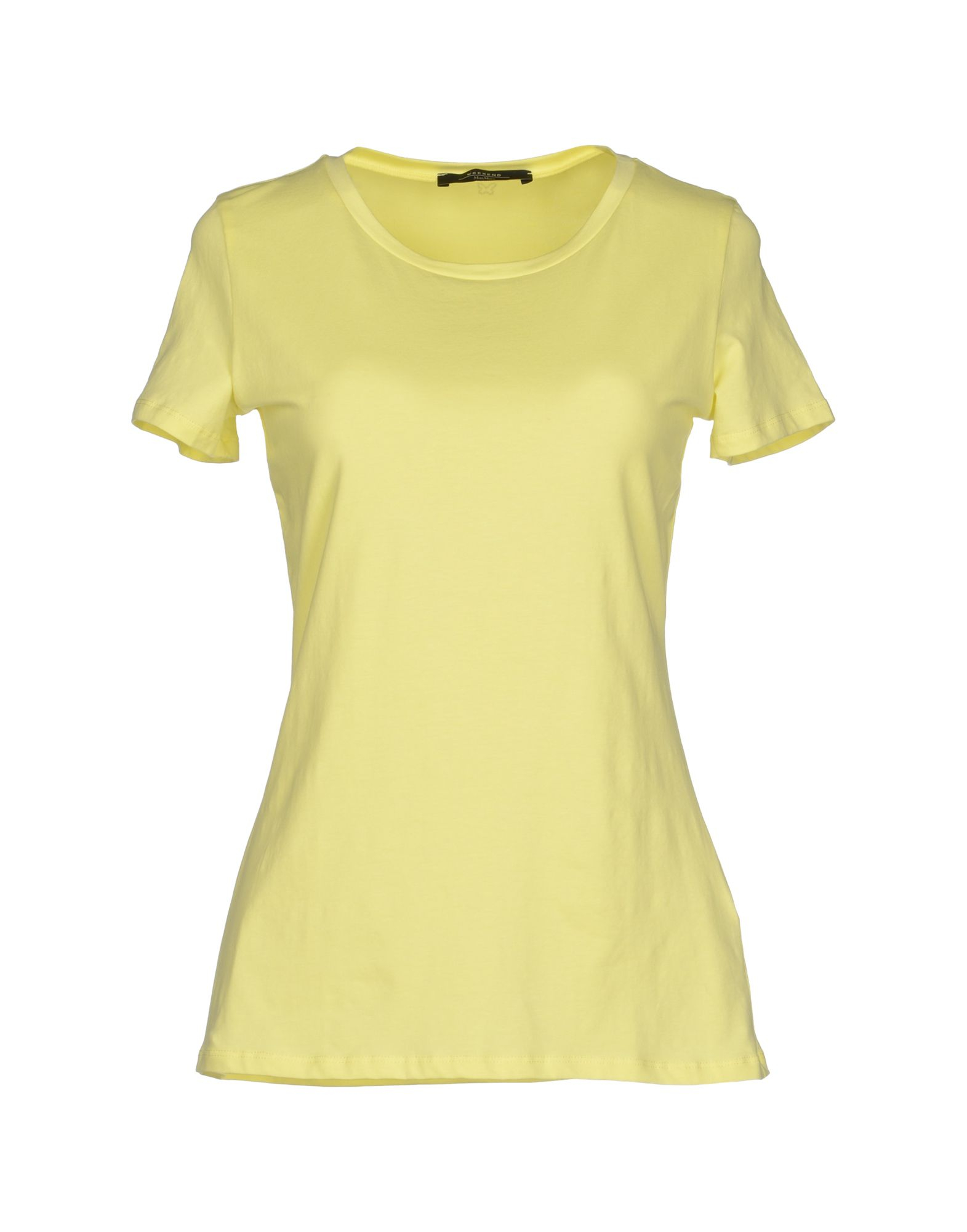 weekend by maxmara yellow tshirt lyst. Black Bedroom Furniture Sets. Home Design Ideas