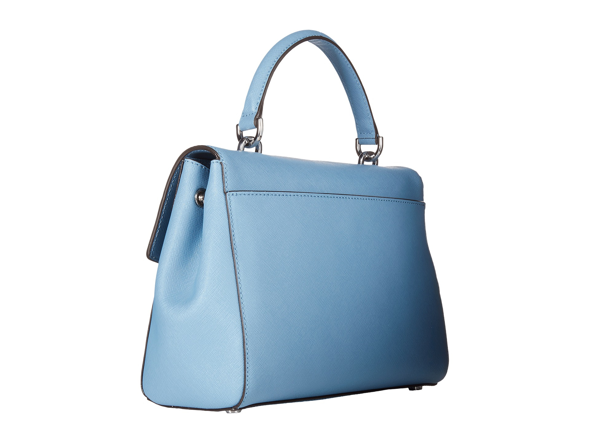 6d8c9491d86e ... discount code for lyst michael michael kors ava medium th satchel in  blue 33e95 ab0ae