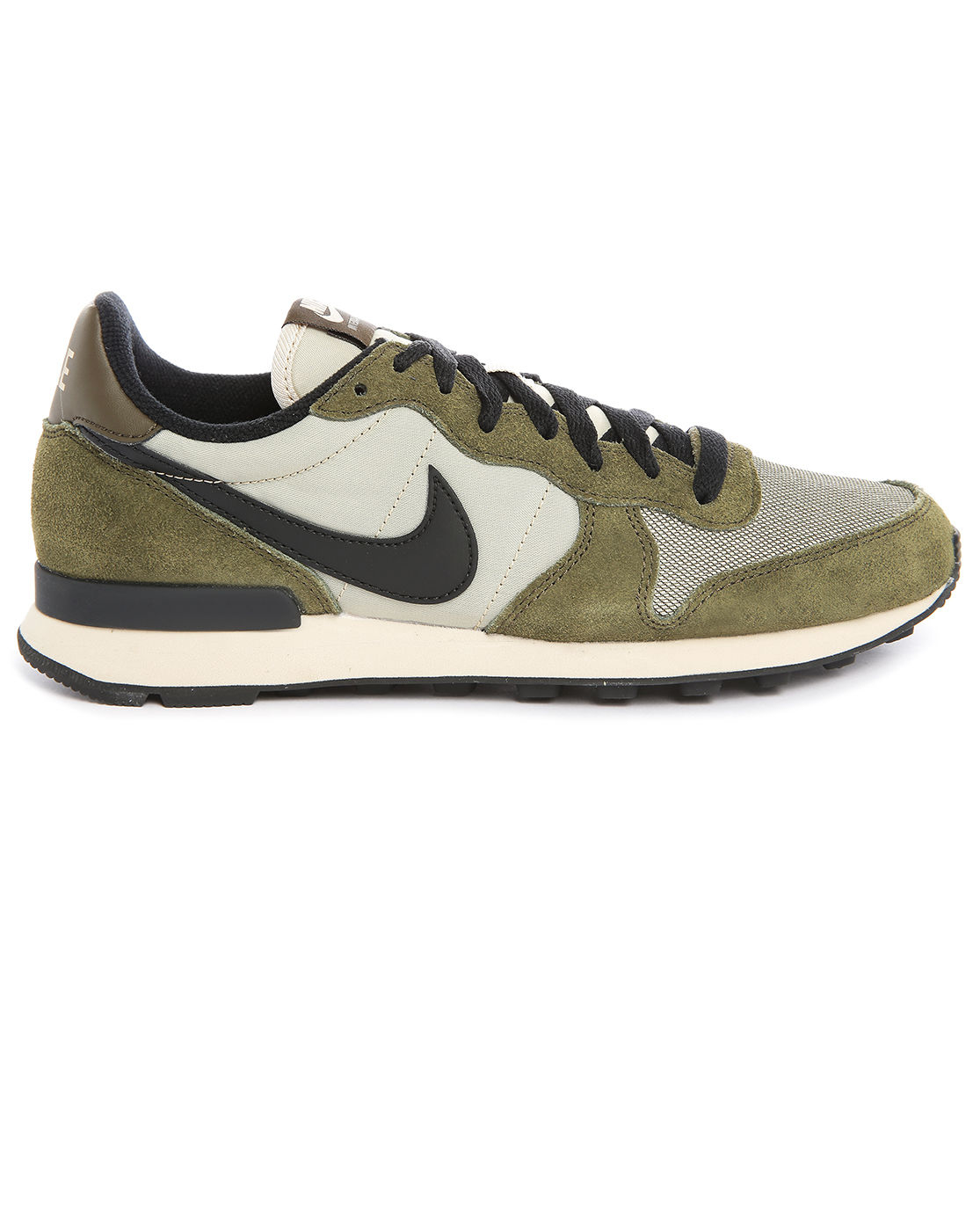 nike internationalist khaki sneakers in green for men. Black Bedroom Furniture Sets. Home Design Ideas
