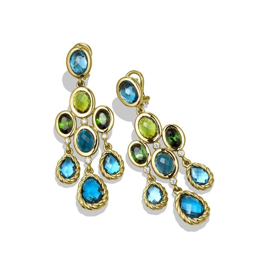 david yurman dy signature collection chandelier earrings