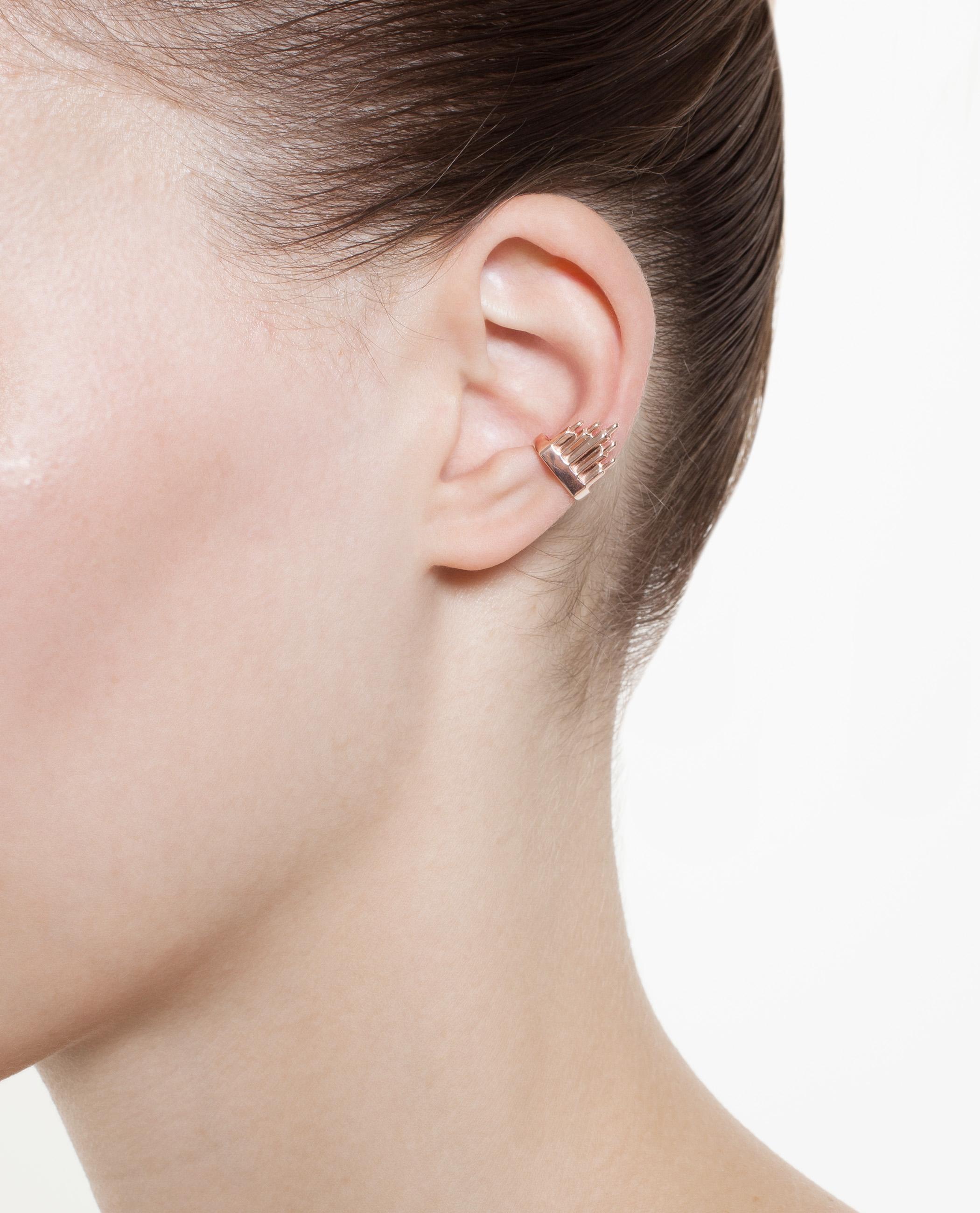 c413c2adda6a9 Top 10 Punto Medio Noticias   Maria Black Ear Cuff