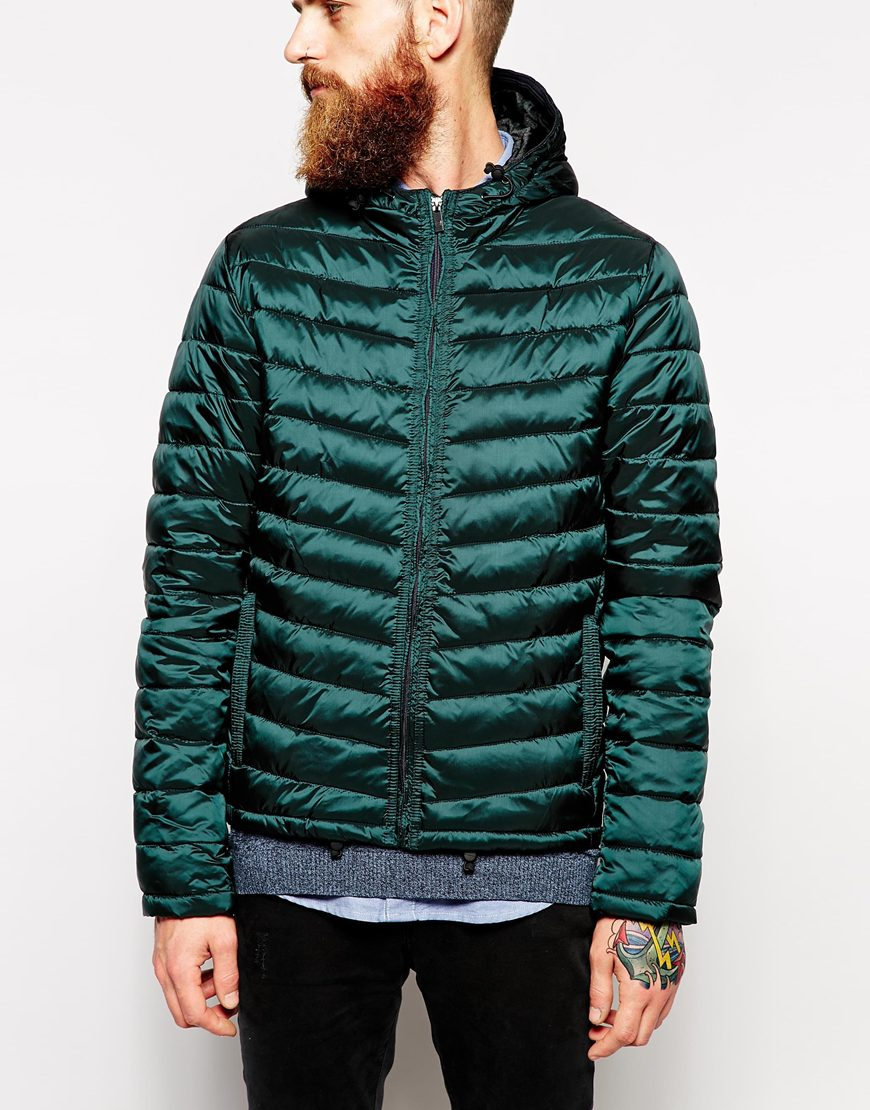 Lyst Scotch Amp Soda Quilted Jacket In Blue For Men