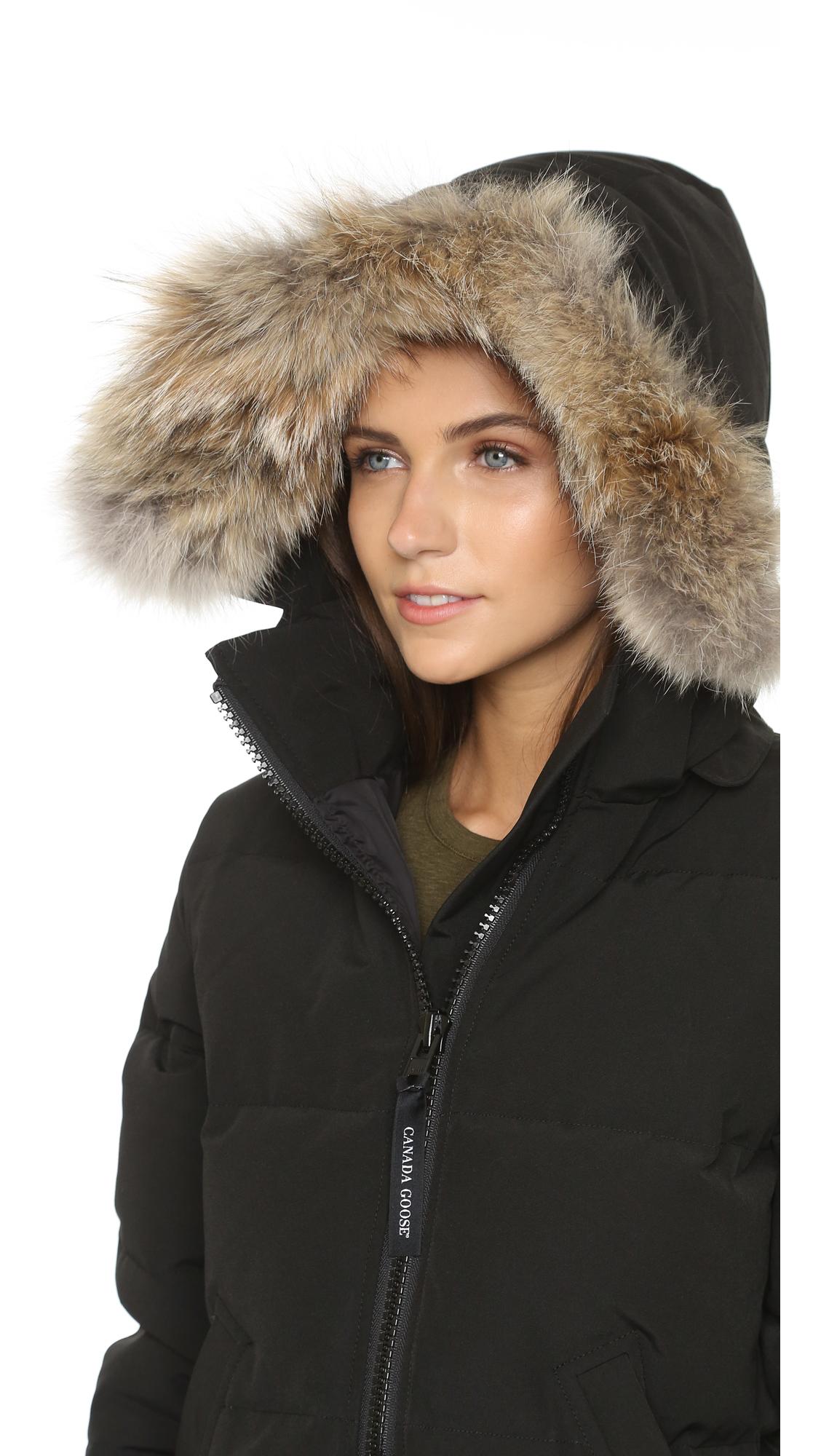canada goose mystique fur-hood parka