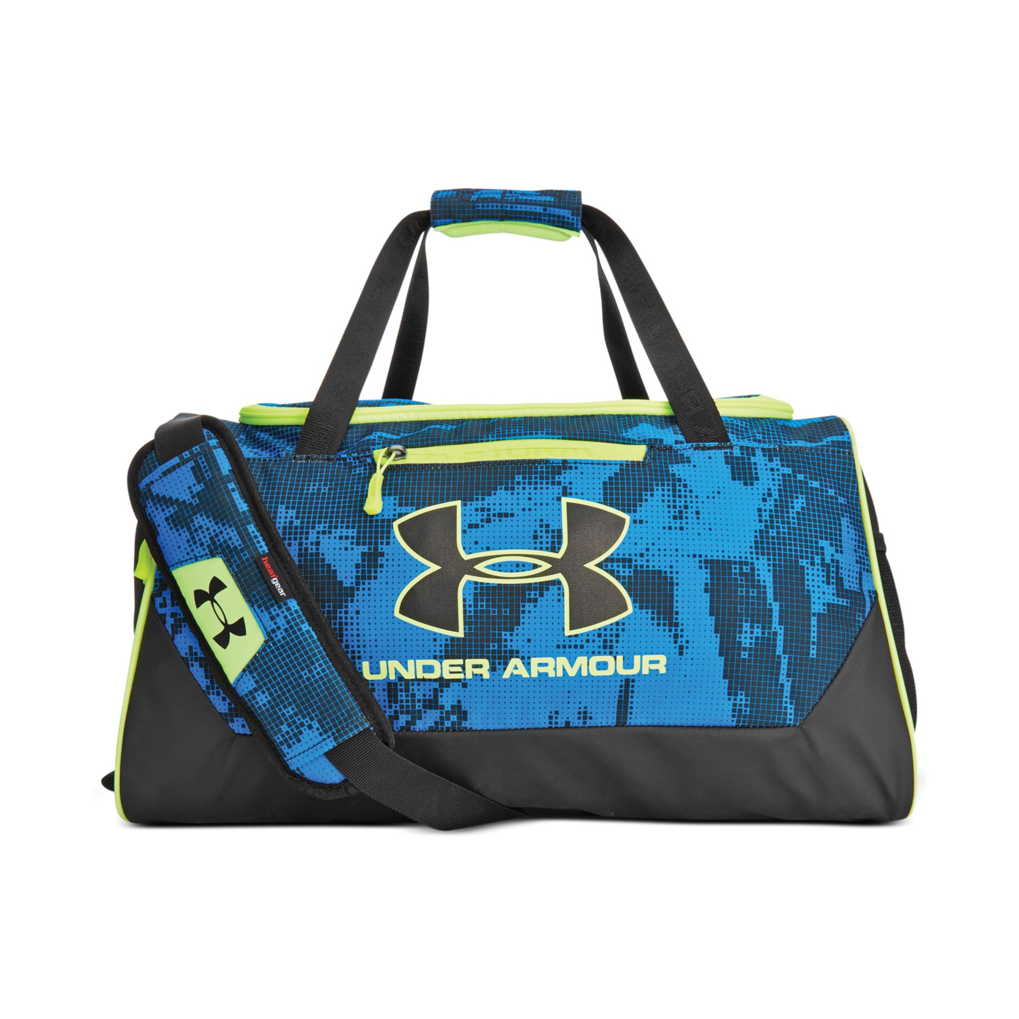 507b9f028ef0 Lyst - Under Armour Hustle Small Duffle Bag in Blue for Men
