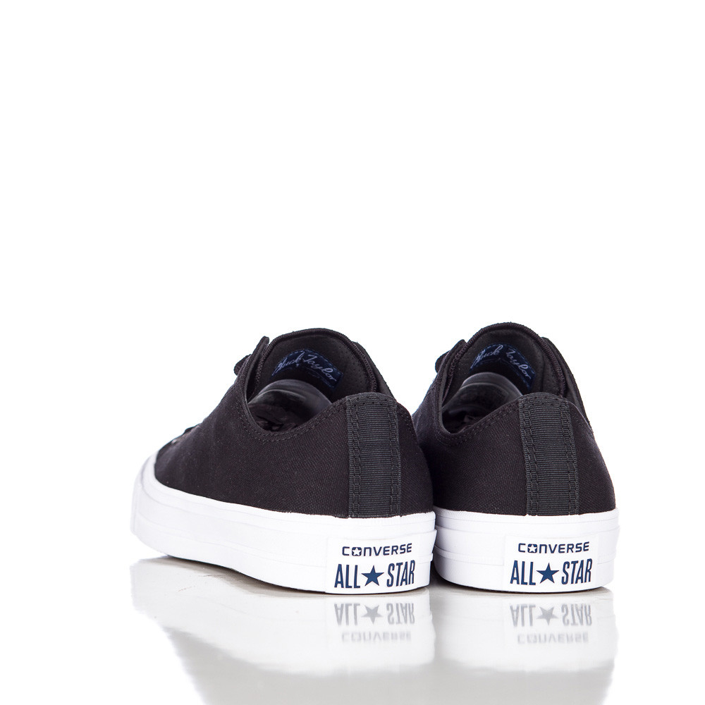 8be69e6335ca Lyst - Converse Chuck Taylor All Star Ii Ox Low In Black white navy in Blue  for Men