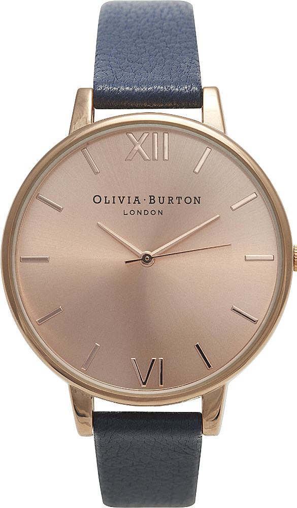 Big Dial Watches In Chain For Ladies