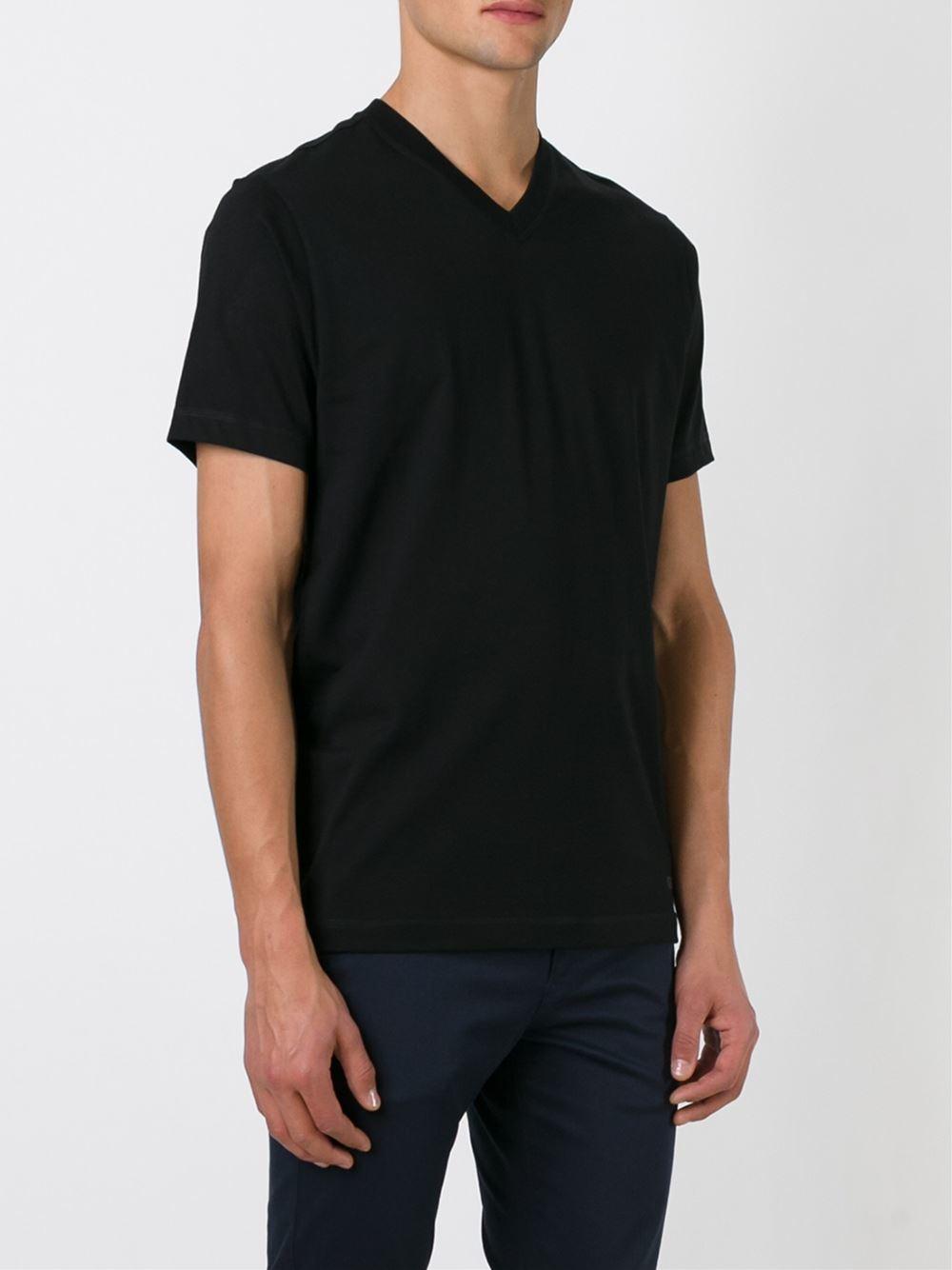 Lyst Kenzo V Neck T Shirt In Black For Men