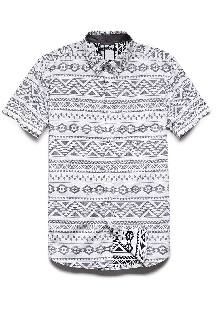 ccd3d20e7 Mens Tribal Print Shirts Forever 21 | Top Mode Depot
