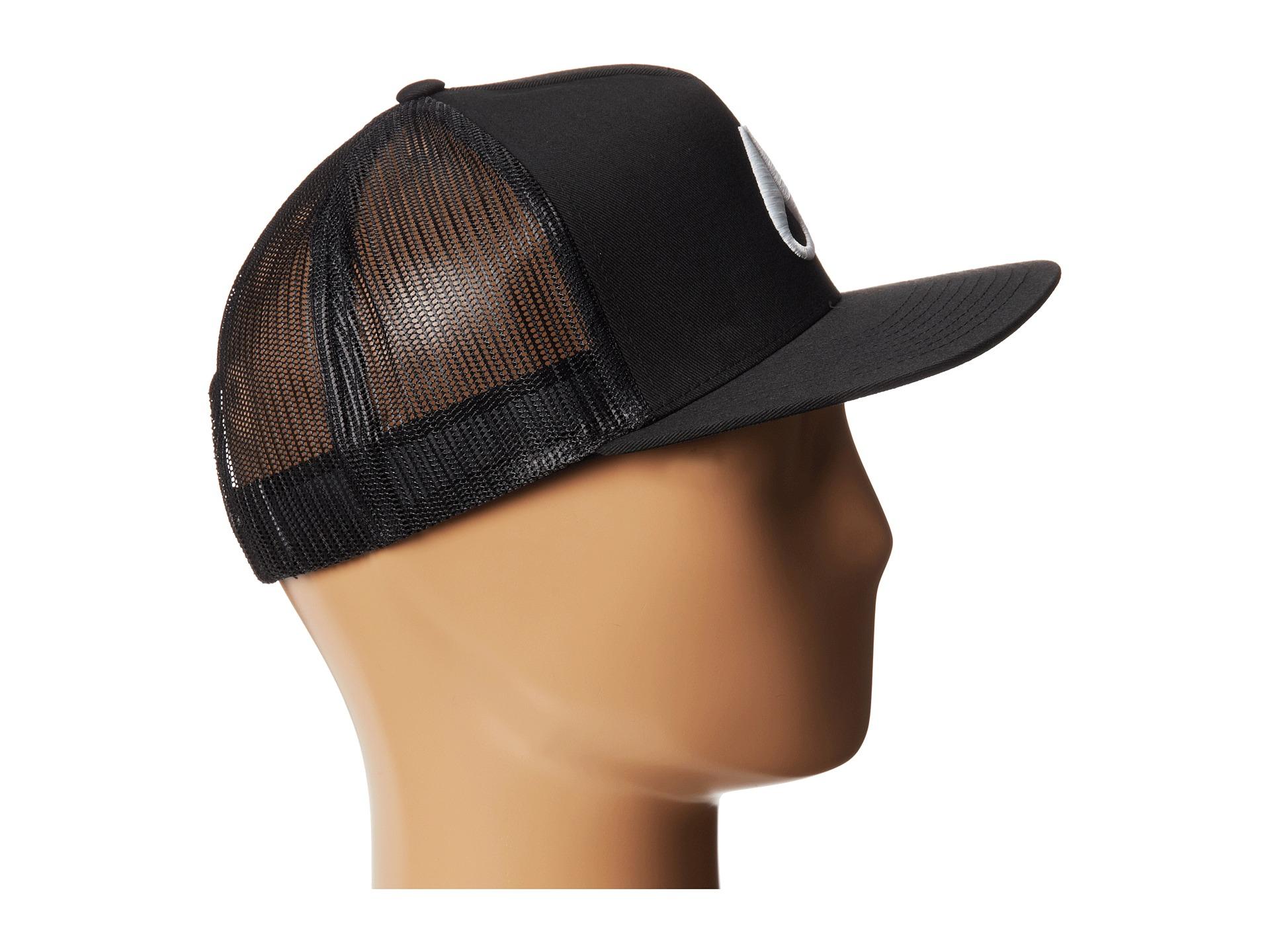 Lyst - Nixon Deep Down Trucker Hat in Black 923cba6deac