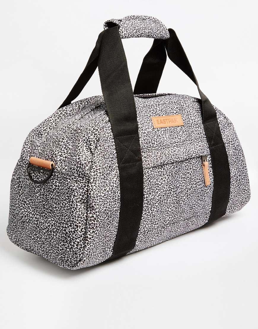 Eastpak Compact Travel Bag In Animal Print