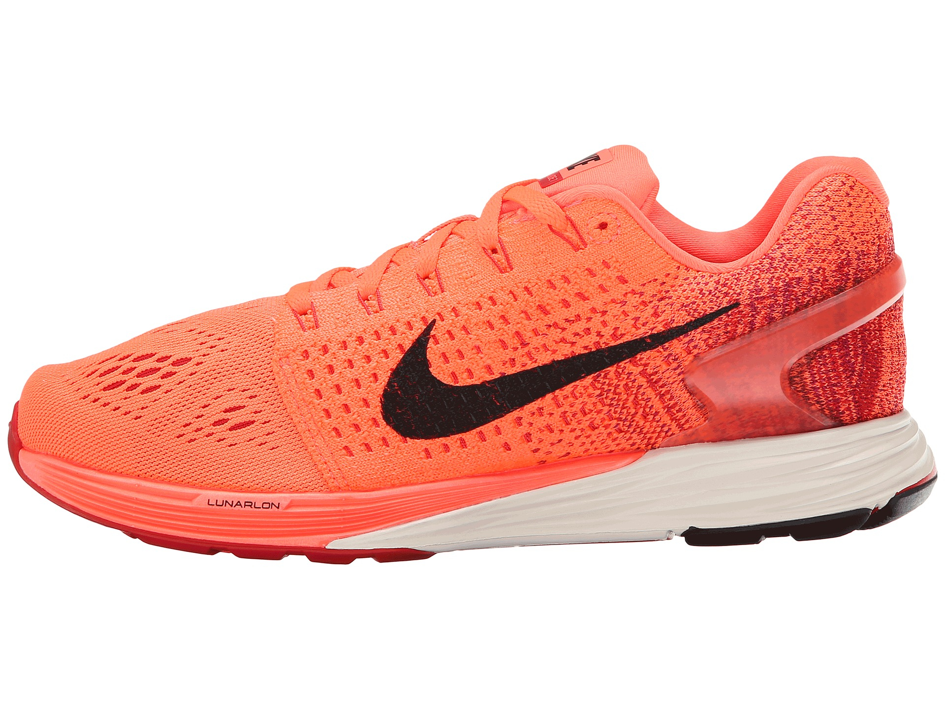separation shoes 262f2 f312e new style lyst nike lunarglide 7 in orange for men 3a796 5155a