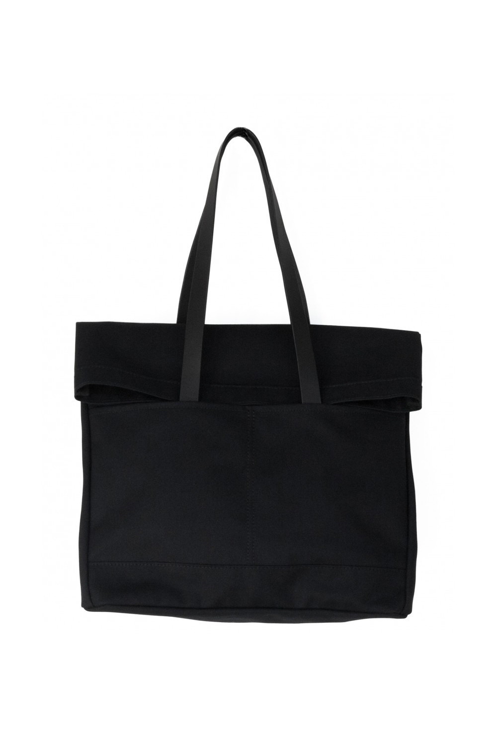 Lyst Makr Canvas And Leather Fold Weekender Bag In Black