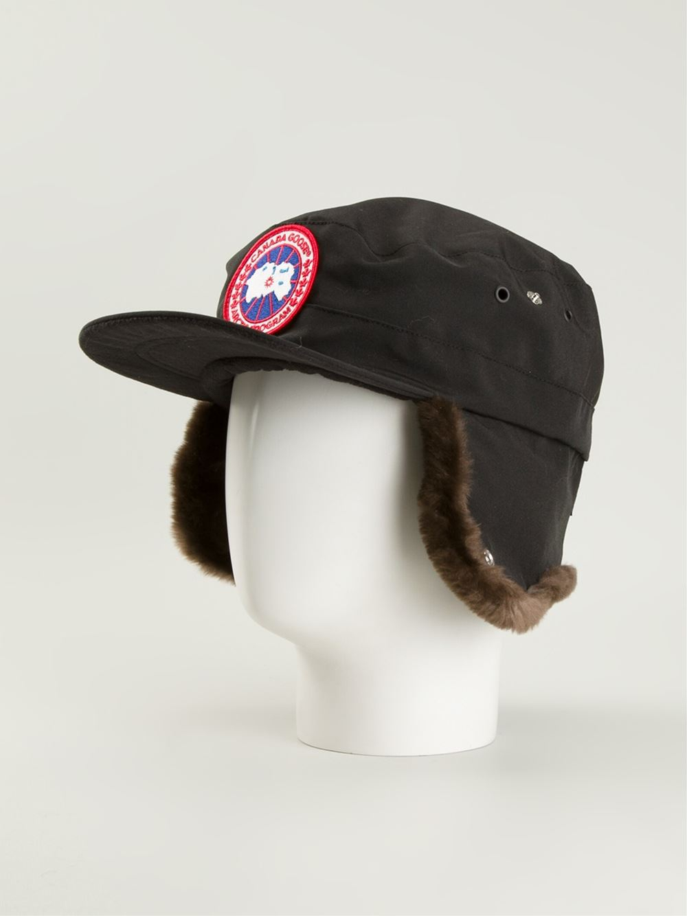 29a22264ff3ec Canada Goose Beaver Cap in Black for Men - Lyst
