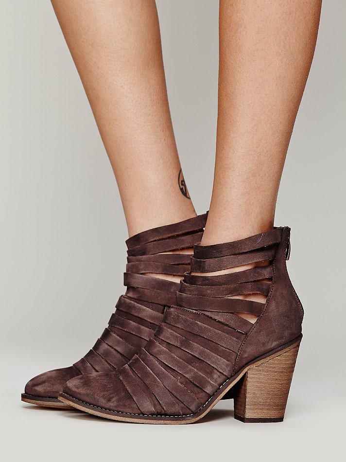Free People Hybrid Heel Boot In Brown Lyst