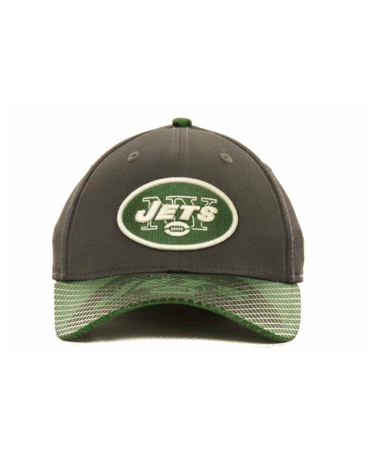 quality design b7878 57ece ... coupon lyst ktz new york jets 39thirty cap in green for men 21e2f 15e3b