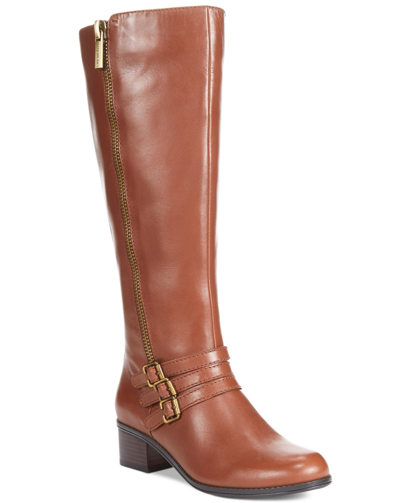 Buy Moda In Pelle by Aronas Tan Leather from our Sale range - Tan, Aronas, Block, Ankle Boots, PROMO, Leather, Leather - @ Moda in Pelle.