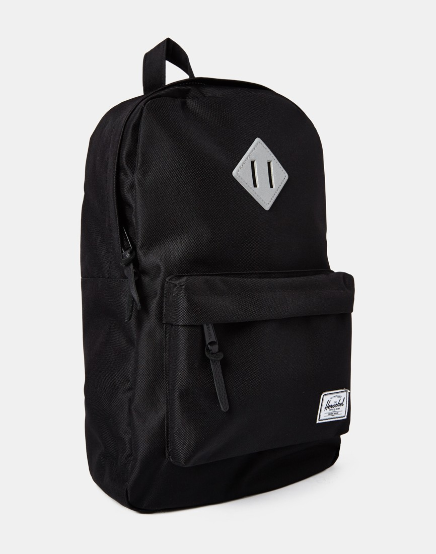 Herschel Mid Volume Heritage in Black Smhi0mJ