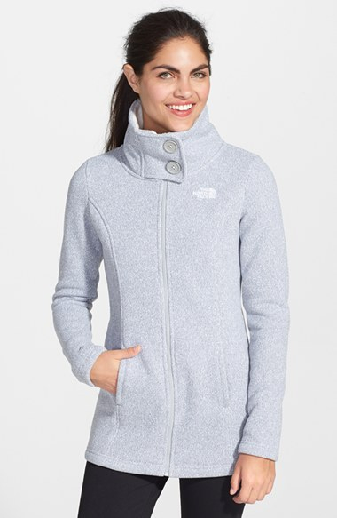 Lyst The North Face Lunabrooke Sweater Jacket In Gray