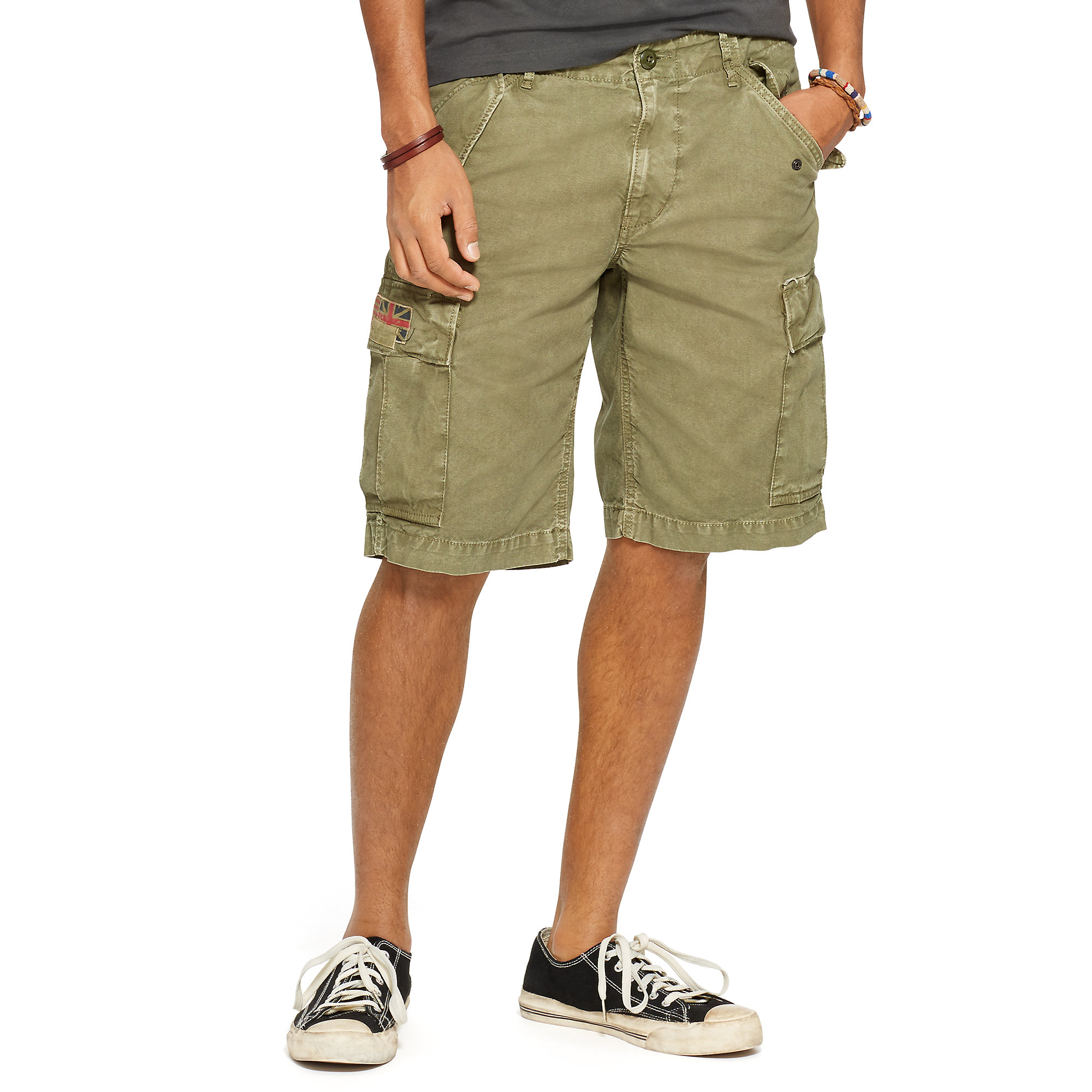 Lyst Denim Amp Supply Ralph Lauren Field Cargo Short In
