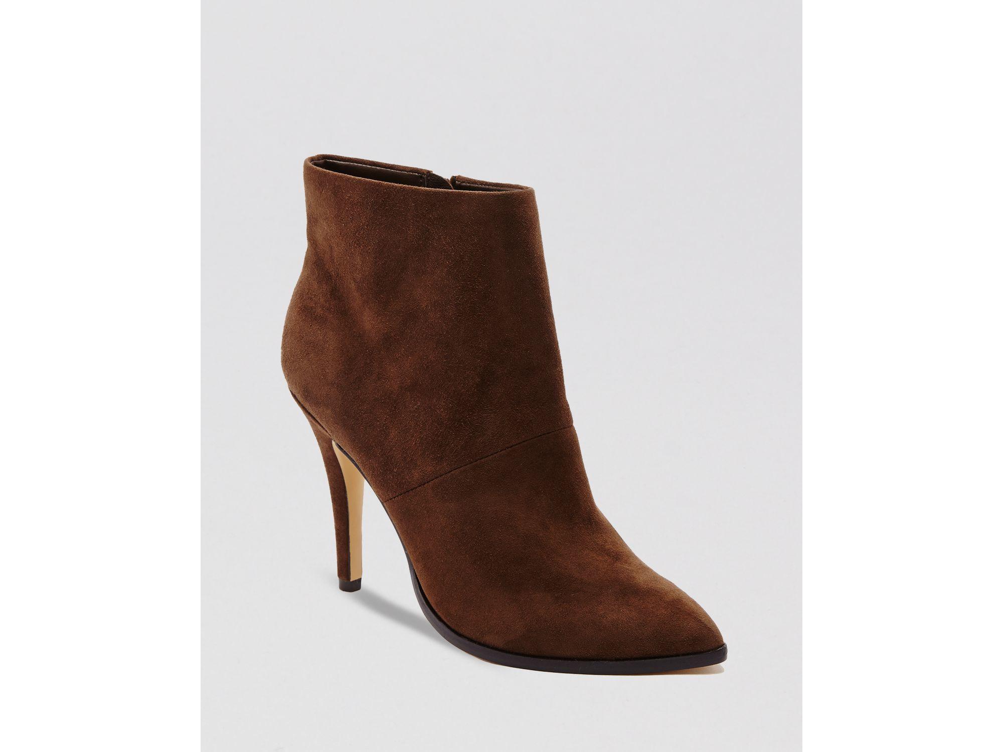 5f22408eec5 Women's Brown Pointed Toe Booties - Katin High Heel