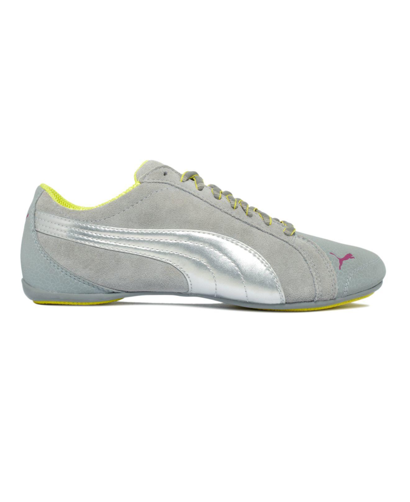88ba56185f0 Lyst - PUMA Women s Janine Dance Flower Sneakers From Finish Line in ...