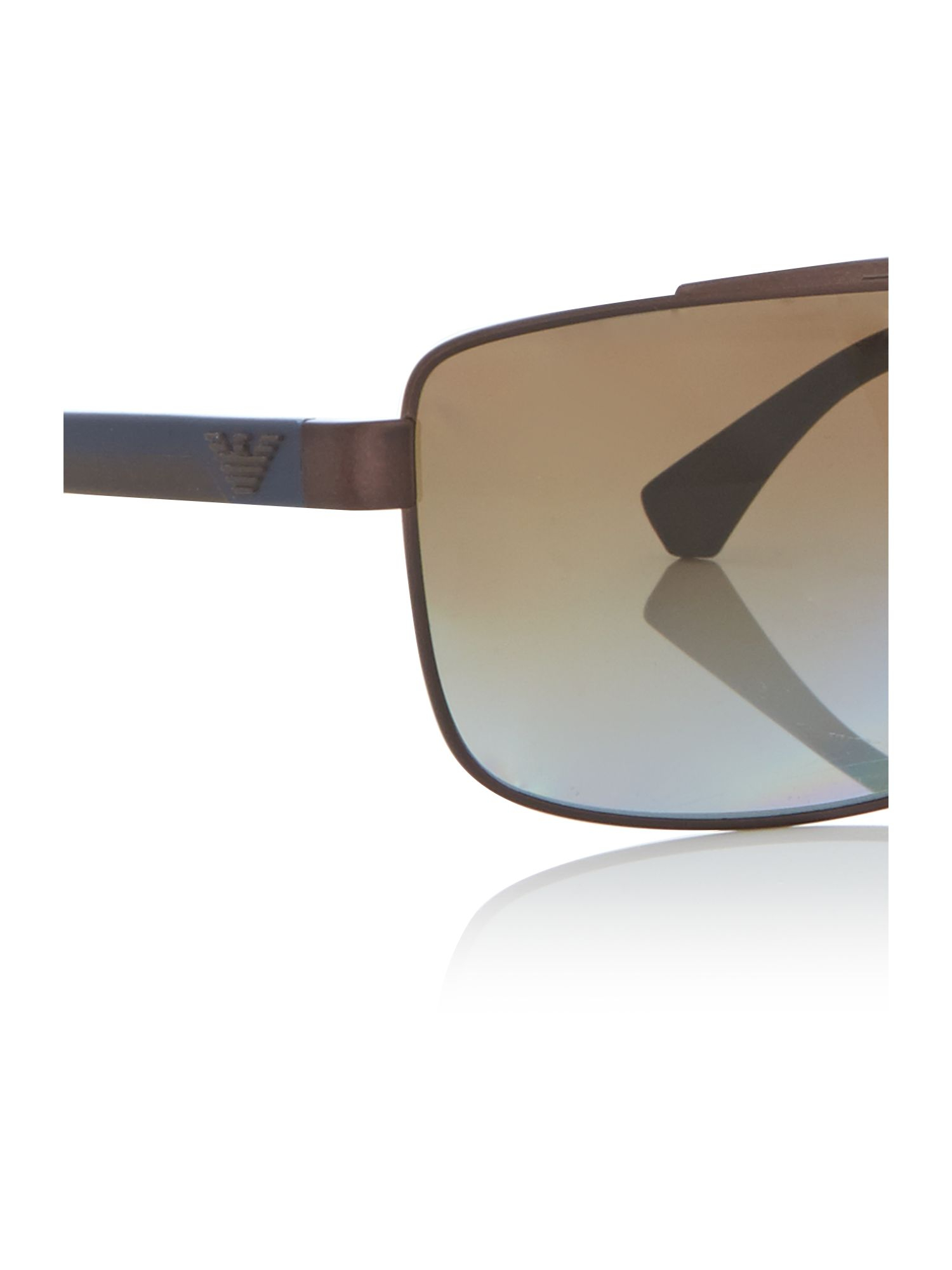 Polar 1 Sunglasses  emporio armani men s polar brown grant square sunglasses in