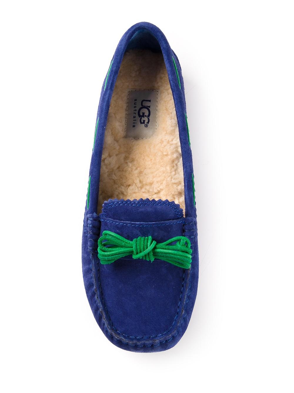 Lyst Ugg Meena Slippers In Green