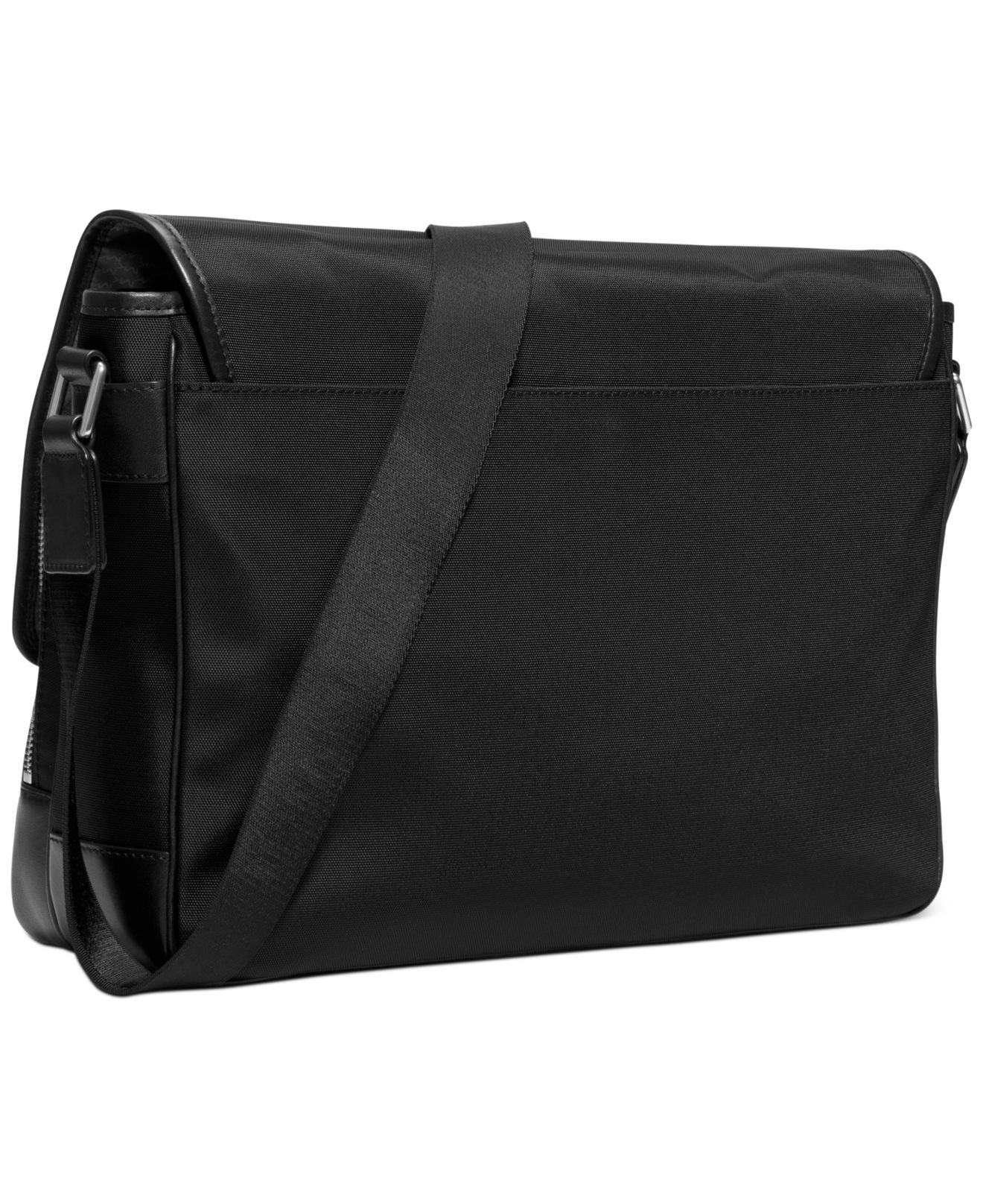 Michael kors Windsor Large Messenger Bag in Black for Men | Lyst