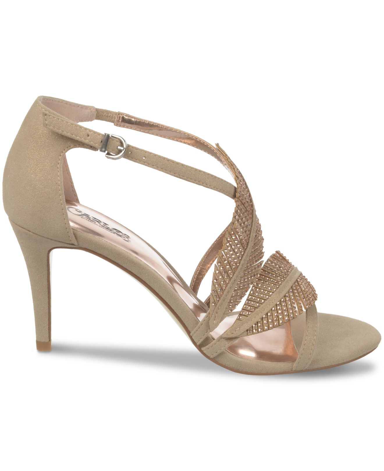 51ae92c7e19 Lyst - Carlos By Carlos Santana Frisco Dress Sandals in Natural