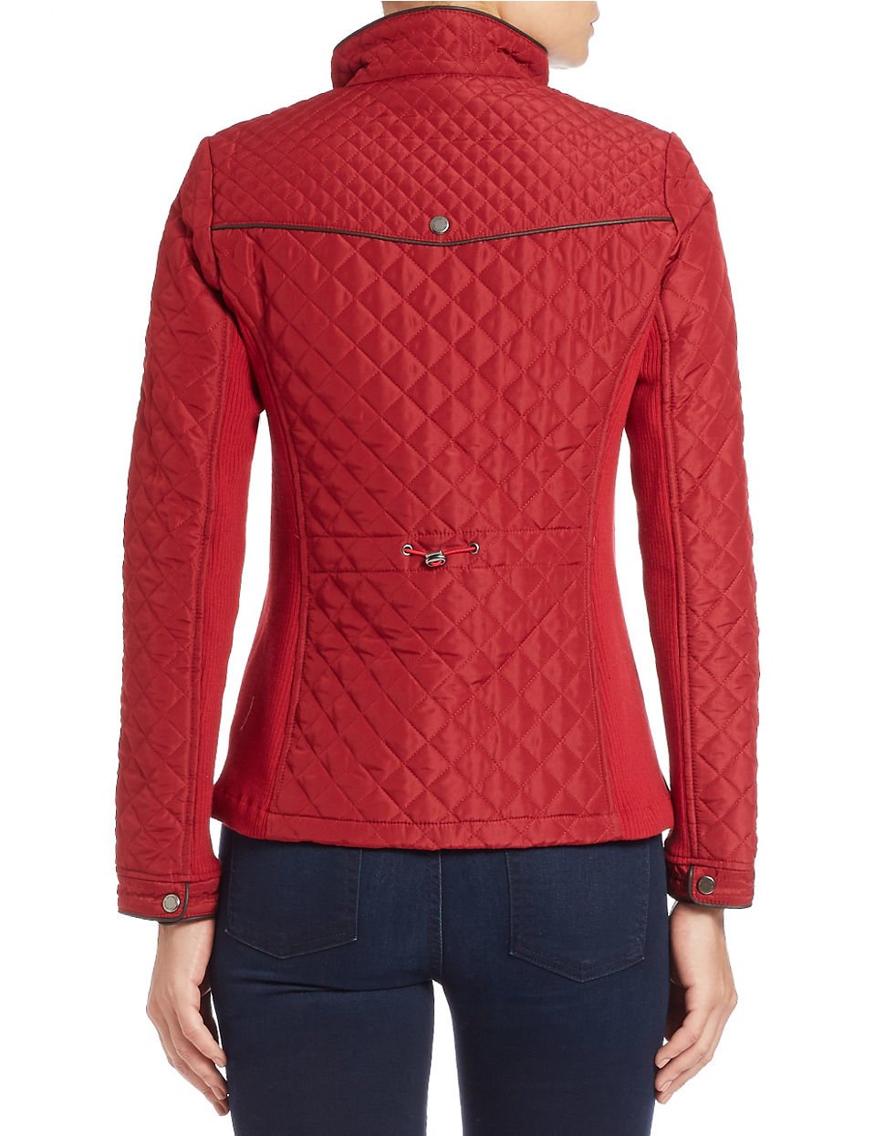 Weatherproof Quilted Jacket In Red Lyst