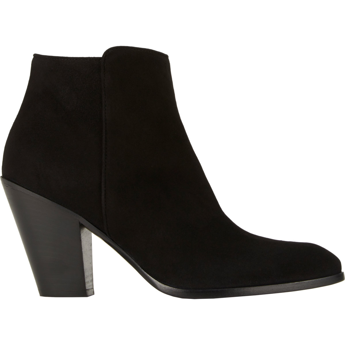 barneys new york s bedford ankle boots in black lyst