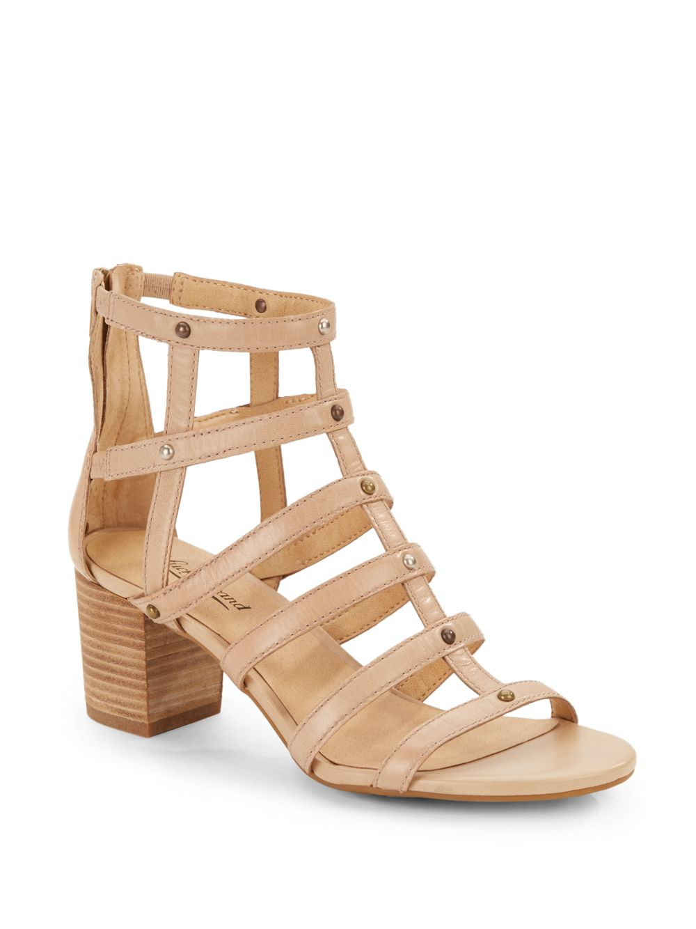 a016bcbe5b4 Lyst - Lucky Brand Lisbethe Cage Sandals in Natural