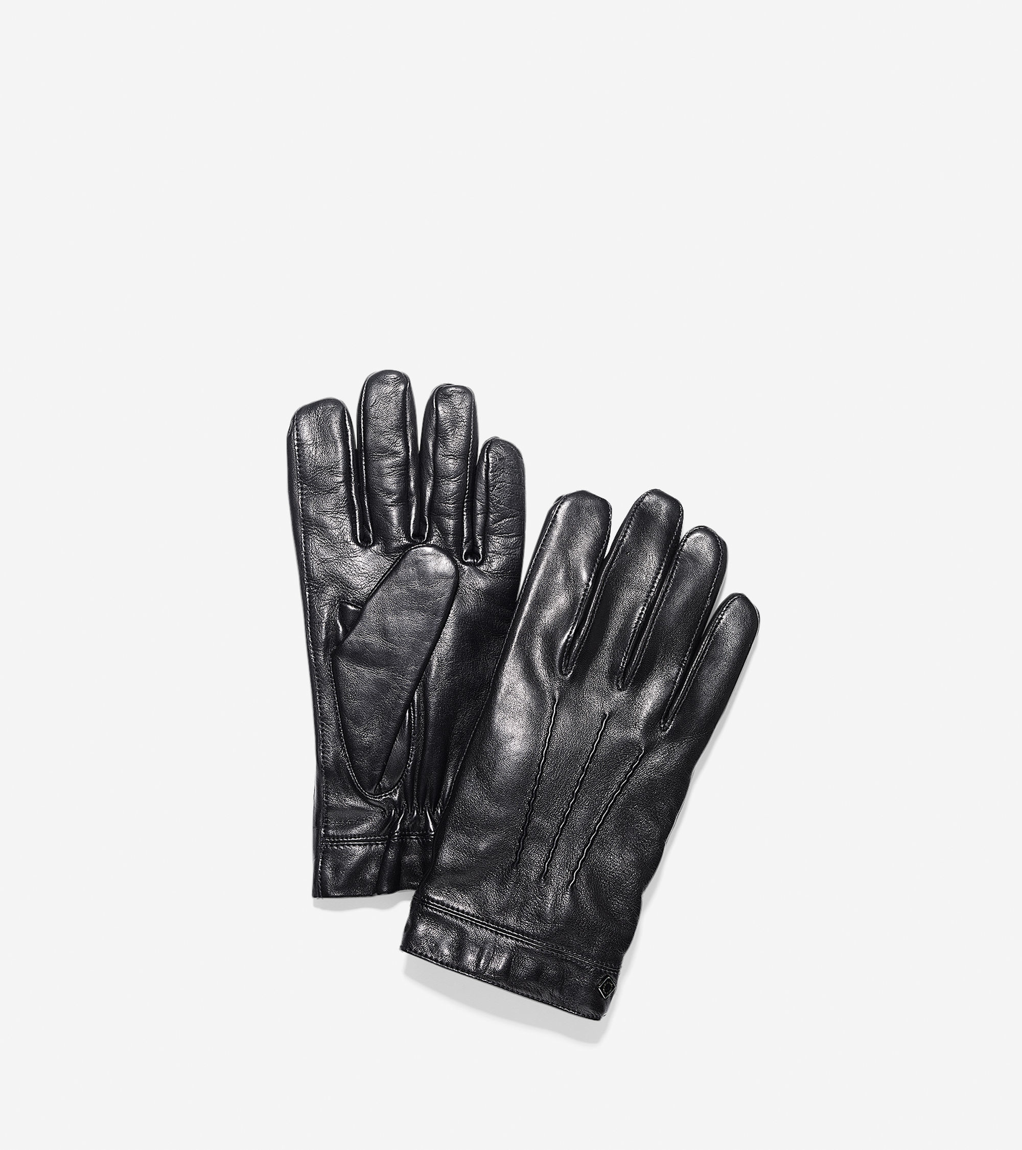 Cole haan black leather gloves - Gallery Men S Leather Gloves