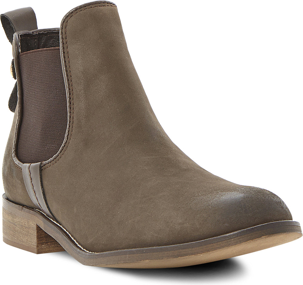 d4dd6712e11 Steve Madden Gilte Chelsea Ankle Boots in Brown - Lyst