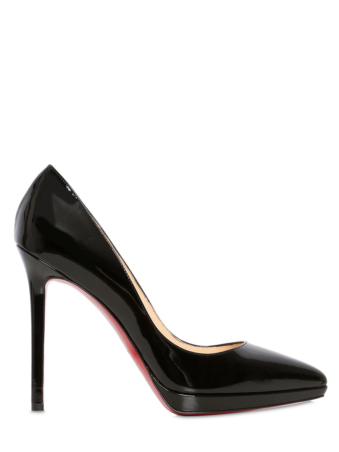 save off 0dd9b b8cb4 christian louboutin pigalle plato patent red sole pump ...