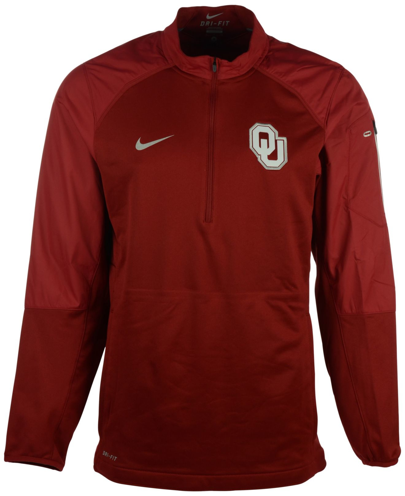 3f37431a985a Lyst - Nike Men s Oklahoma Sooners Hybrid Jacket in Red for Men
