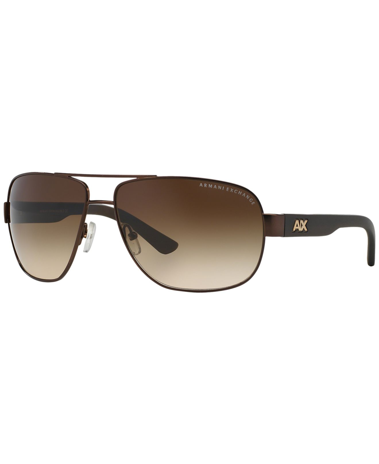 1b21cab6478 Armani Exchange Ax 139 s Aviator Sunglasses