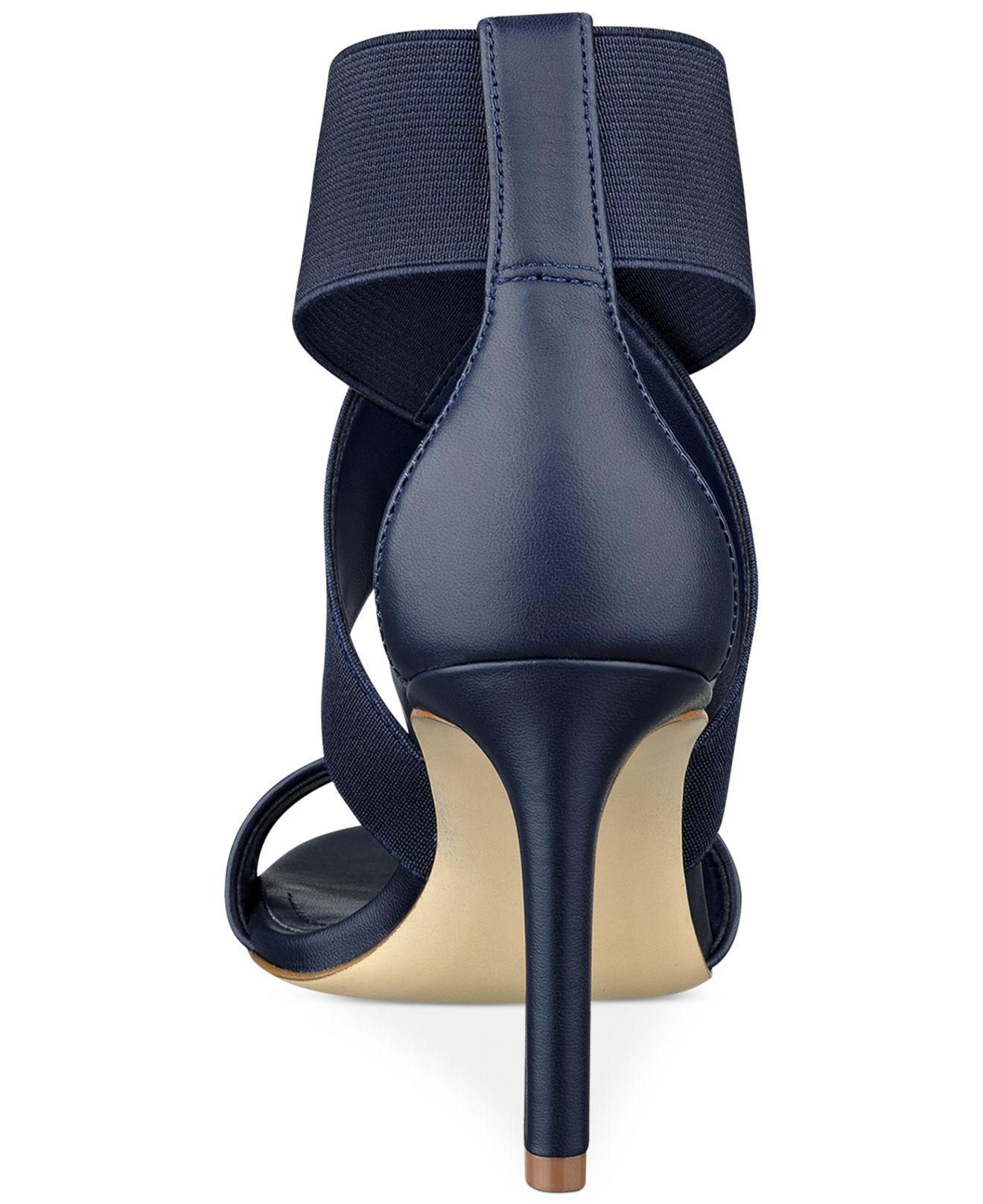 Lyst Marc Fisher Brooke Dress Sandals In Blue