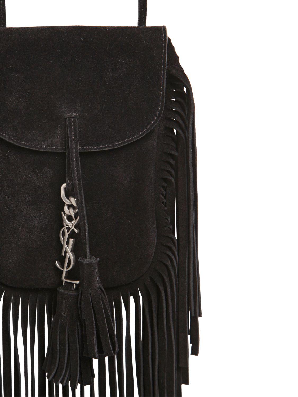 royal blue patent leather clutch - anita mini flat suede shoulder bag with fringe, black