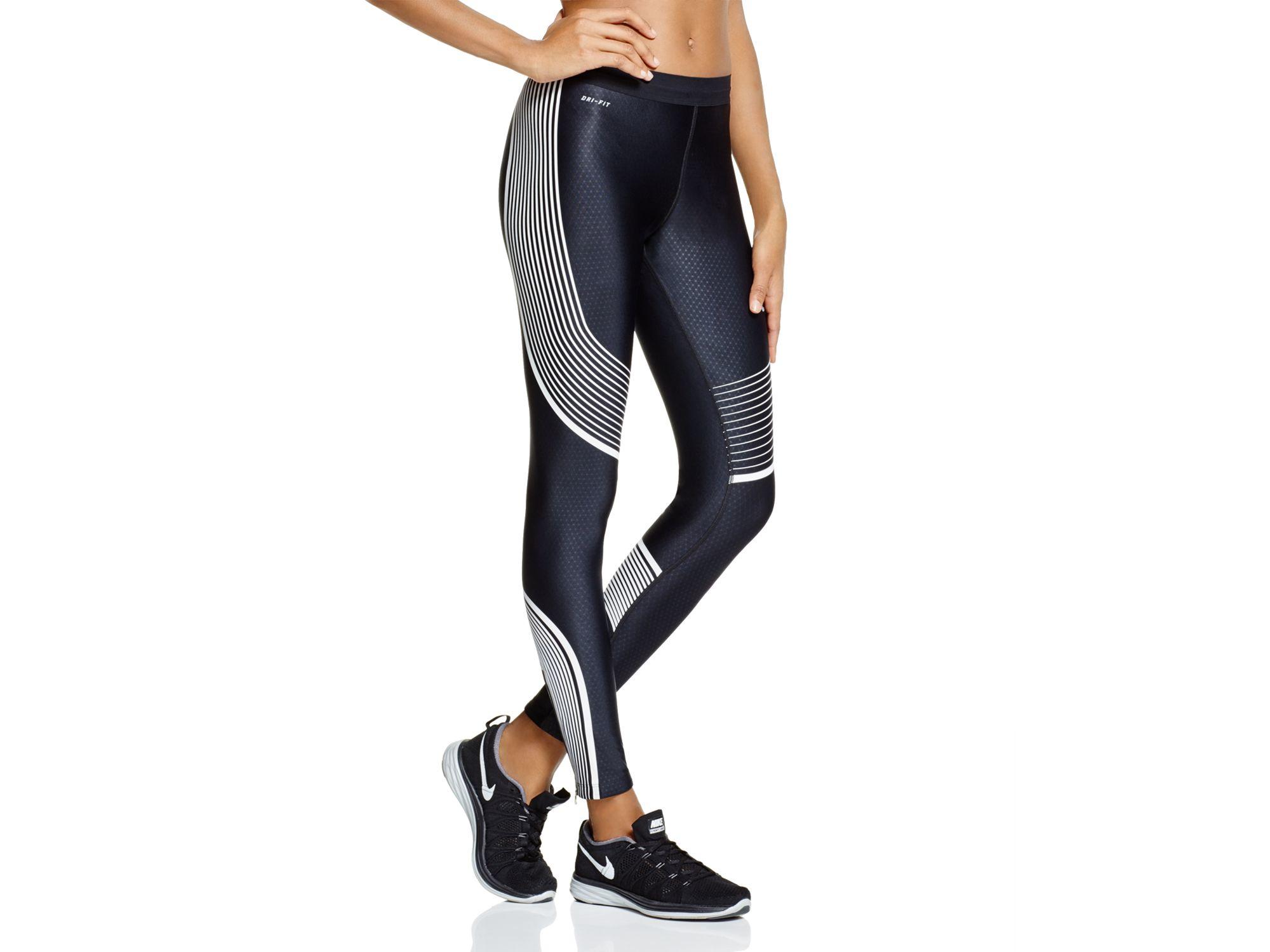 nike air max thea vert - Nike Power Speed Leggings in Black | Lyst
