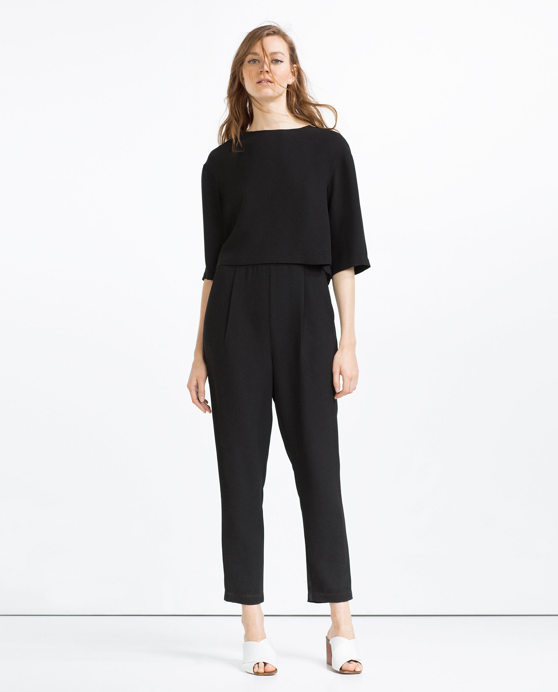 Simple With Jumpsuits, Theyre Either A Hit Or A Miss Well, We Are Obviously Siding With The Prior Because Jumpsuits Are Literally Wearable For Every Occasion Going To A Wedding? Rock A Crisp White Shirt Layered Under Zara  On The Best Womens