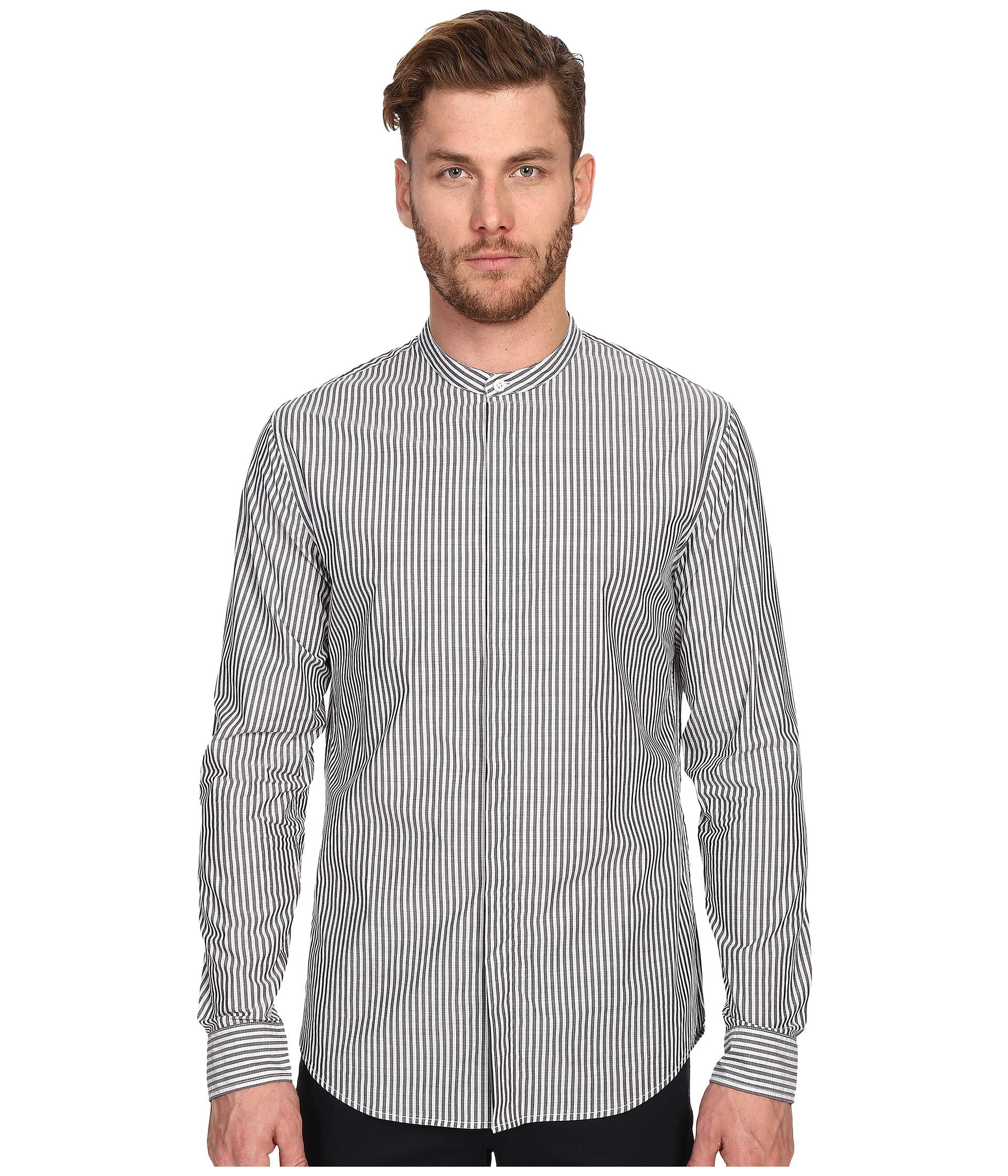 mandarin collar shirt - Black Vince Free Shipping Good Selling 100% Original Cheap Online vX7ZlcZL