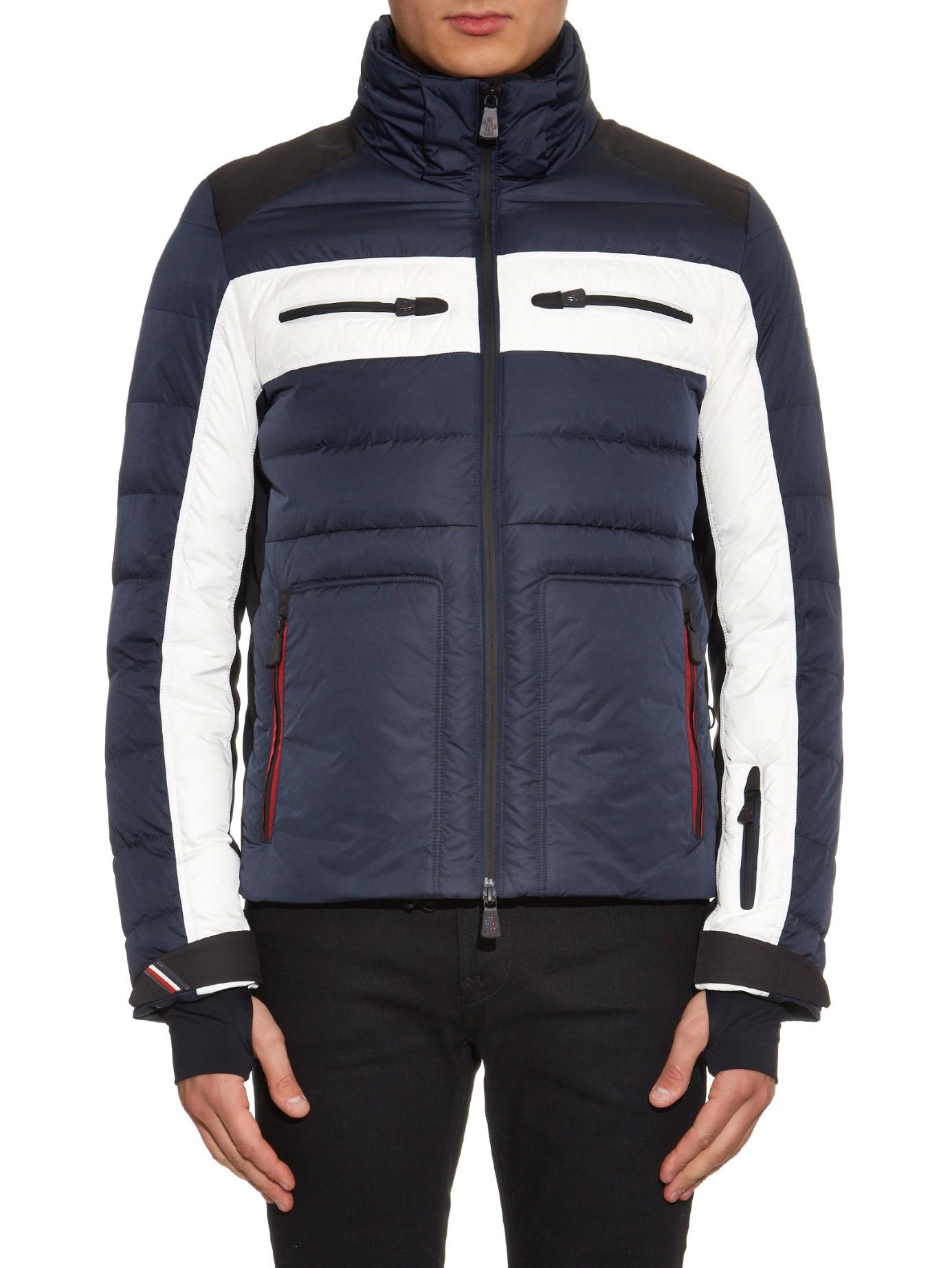 moncler blue ski jacket