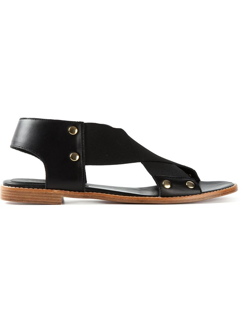 Vanessa Bruno Leather Sandal Deals Cheap Price In China Exclusive C8w4Jn