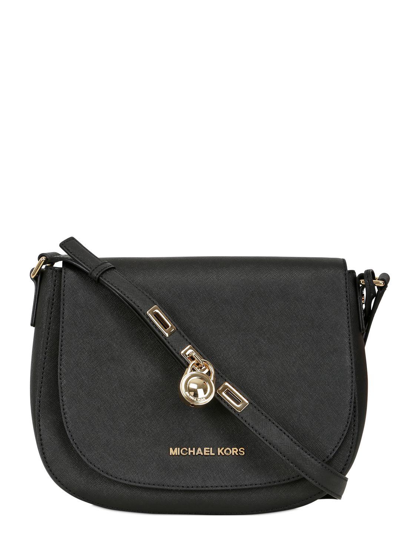 Michael Michael Kors Hamilton Saffiano Leather Shoulder