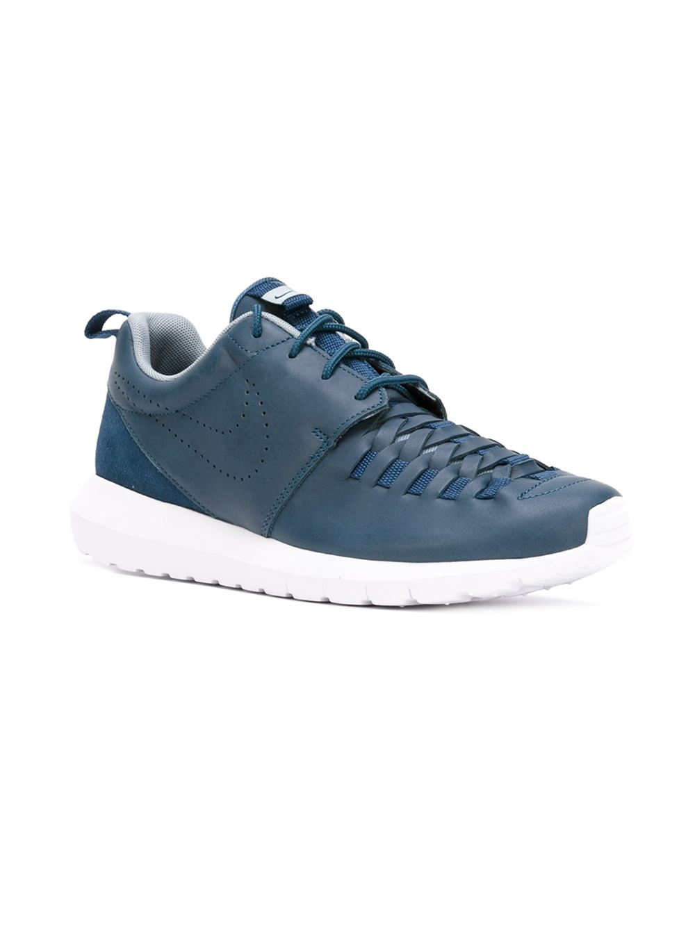 nike 39 roshe one nm 39 sneakers in blue for men lyst. Black Bedroom Furniture Sets. Home Design Ideas