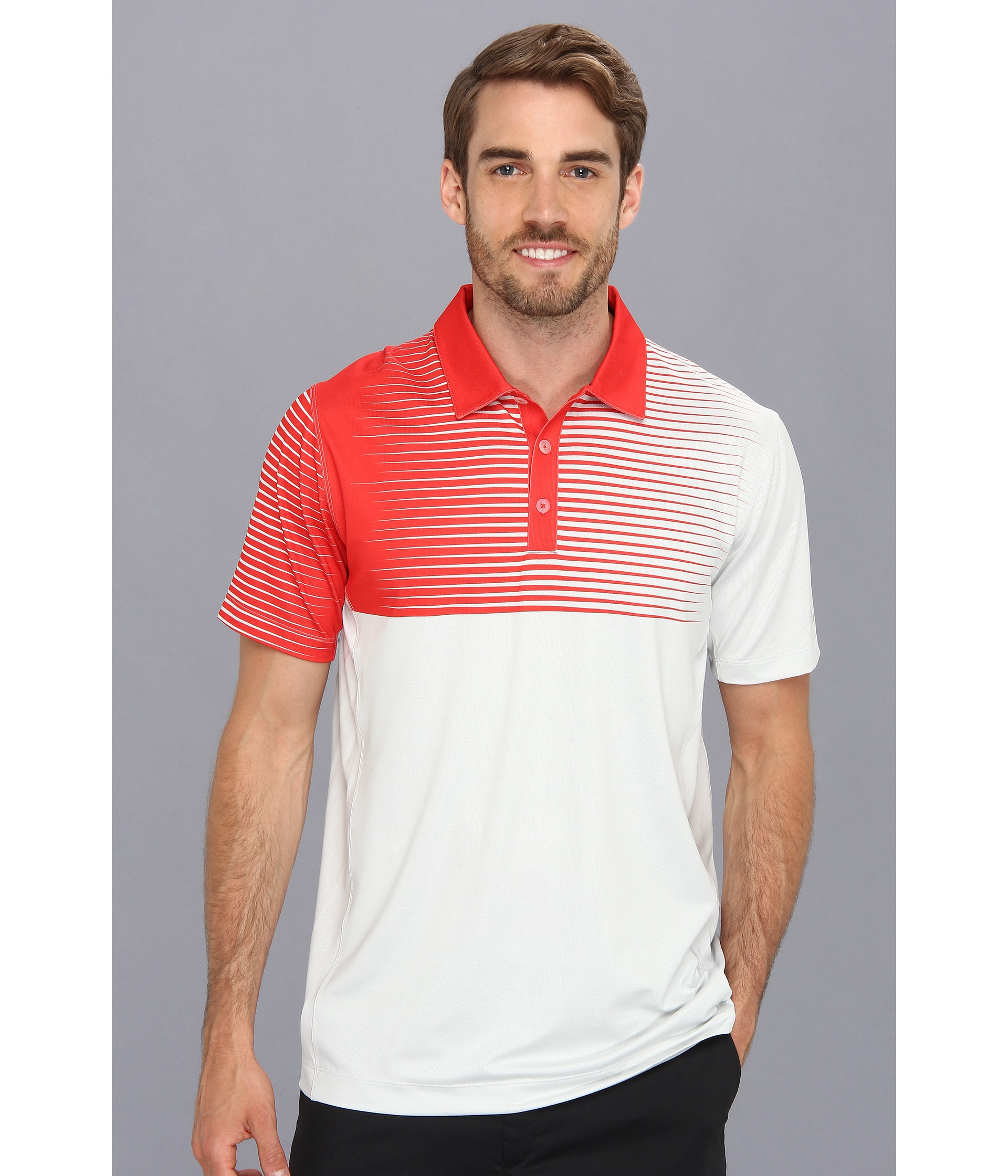 cb9b7160 Nike Innovation Gradient Polo in Red for Men - Lyst